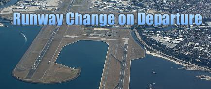 Runway Change on Departure
