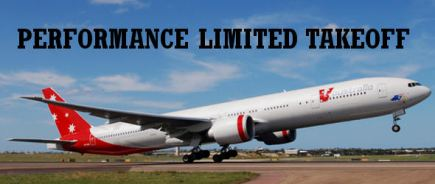 Performance Limited Takeoff