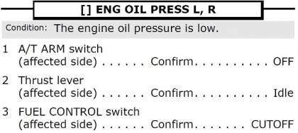 777 Engine Oil Pressure