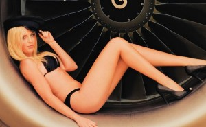 Nude flight attendant calendar photo 132